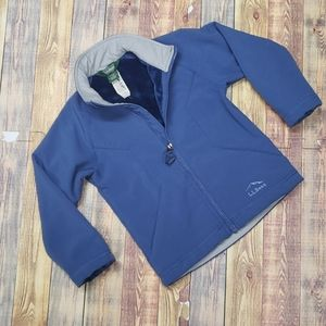 L.L.BEAN YOUTH ALL WEATHER FLEECE LINED JACKET